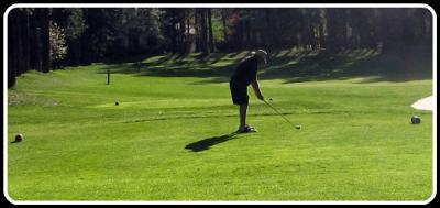 Just me and The Golf Course